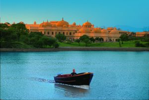 The Oberoi Udaivilas on Lake Pichola, Udaipur