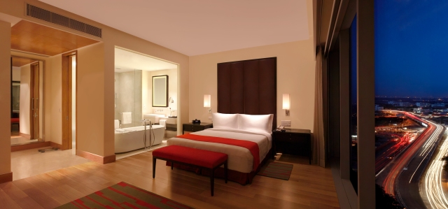 An Executive Suite at Trident, Hyderabad