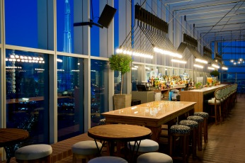 Iris, the rooftop bar at The Oberoi, Dubai