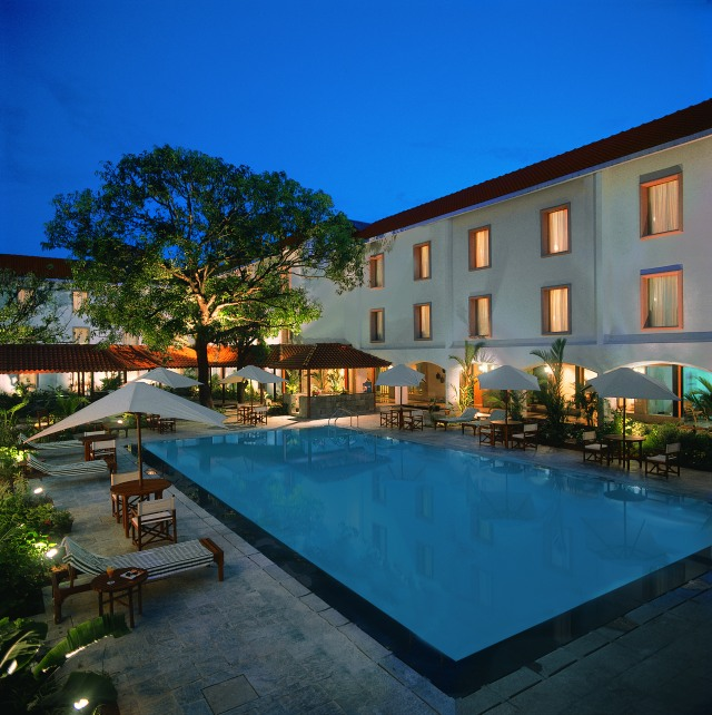 The Pool at Trident, Cochin