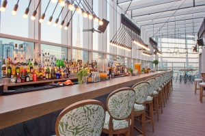 Iris Dubai, the rooftop bar at The Oberoi, Dubai