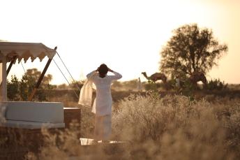 Soak in the solitudes and serenity of The Serai, Jaisalmer