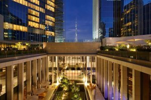 Private venues can be arranged at The Oberoi, Dubai for festive parties